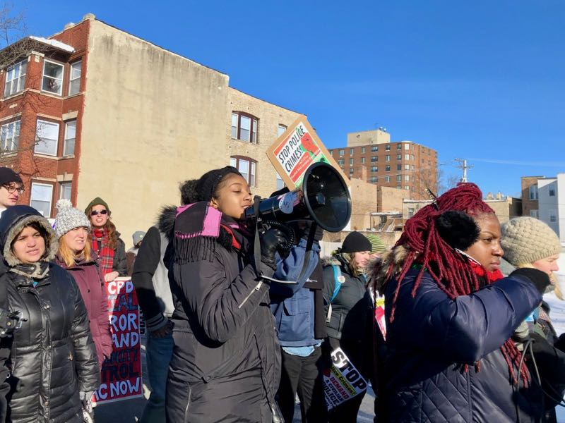 MLK Day 2019 Black Lives Matter march leaders